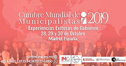 Cumbre Mundial Municipalistas 2019 - Instituto Mejores Gobernantes